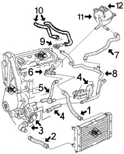 Exhaust Catalytic Converter further 5256 Circuit De Refroidissement Sharan 20 Avant 2000 together with 2327 Steering Rack Track Tie Rod Fiat New 500 likewise T2264245 Headlight adjustment together with 2004 Honda Cr V Hose Diagram. on fiat punto 1999