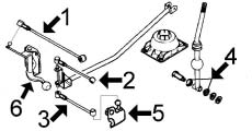 articulation de commande boite de vitesse ax 1 1 alpazo. Black Bedroom Furniture Sets. Home Design Ideas