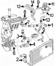 4668 Circuit De Refroidissement Golf 3 20 16s Moteur Abf on where is fuse box audi a3